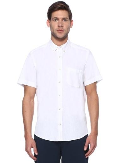 Beymen Club Kısa Kollu Gömlek Beyaz